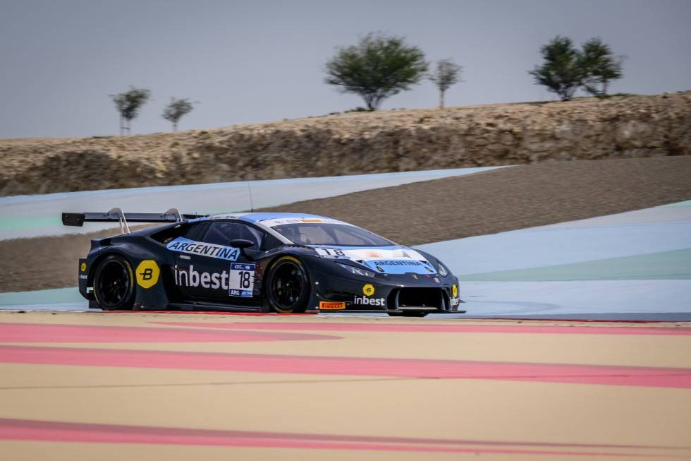 Team Argentina top the times in Free Practice 1